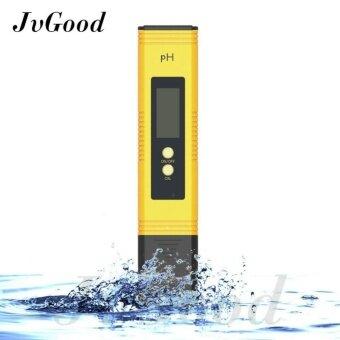 JvGood Digital PH Meter ความแม่นยำสูง LCD แสดงผล LCD น้ำคุณภาพ PH Tester PH 0.0-14.0 ช่วงการวัด 0.01pH ความละเอียด
