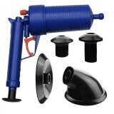ซื้อ High Pressure Air Drain Blaster Pump Plunger Sink Pipe Clog Remover Cleaner Tool Intl ใน จีน