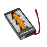 High Quality 2S 6S Lipo Parallel Charging Board Charger Plate Tx60 Plug For Imax B6 B6Ac B8 6In1 ฮ่องกง