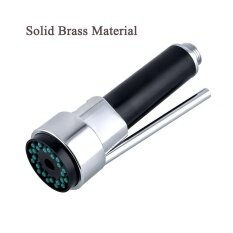 ส่วนลด High Quality Durable Solid Brass Bathroom Kitchen Mixer Tap Pull Out Down Spray Head Faucet Shower Head Replacement Part Polished Chrome Finish Intl