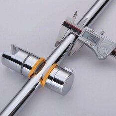 ราคา High Quality Store New Creative 22 25Mm Chrome Shower Rail Head Slider Holder Adjustable Bracket Tool Gray เป็นต้นฉบับ