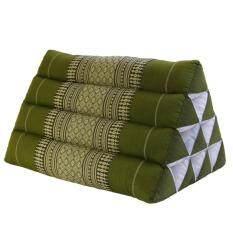 ขาย หมอนพิง หมอนอิงสามเหลี่ยม 10 ช่อง สีเขียว 50X32X32 No Name ผู้ค้าส่ง