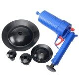 Home High Pressure Air Drain Blaster Pump Plunger Sink Pipe Clog Remover Toilets Bathroom Kitchen Cleaner Kit Intl ใหม่ล่าสุด