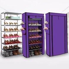 ซื้อ Home Shoes Rack ชั้นวางรองเท้า ที่เก็บรองเท้า ที่วางรองเท้า อเนกประสงค์ ใหม่ล่าสุด