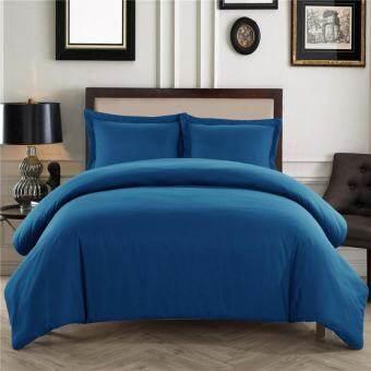 โรงแรมหรู 3 ชิ้นชุดผ้าคลุมเตียง - 1500 กระทู้นับอียิปต์คุณภาพพิเศษ Silky อ่อนนุ่มคู่/ราชินี/ชุดเครื่องนอนชุด