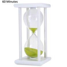 ขาย Hourglass Sand Timer 60 Minutes Wood Sand Timer For Kitchen Office Sch**l Decorative Use Intl