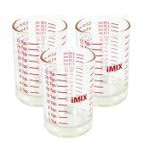 ราคา I Mix Measure Glass แก้วตวง 5 ออนซ์ 3 ใบ ใหม่ล่าสุด
