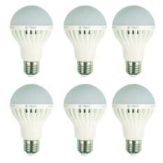 ราคา I Tech หลอดไฟแอลอีดี ขั้ว E27 5W 6หลอด ราคาถูกที่สุด