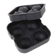 Ice Sphere Tray 2 Pack Enjoy Ice Cold Beverages For Hours 4 X 4 5Cm Round Ice Ball Spheres Lifetime Guarantee Intl จีน