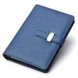ส่วนลด Identity Dairy Personal Planner Organiser Leather Hook Note Book Filofax Gift Blue Unbranded Generic จีน