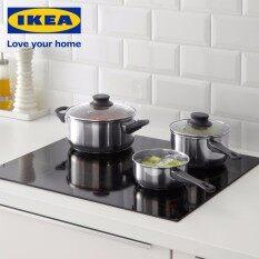 ขาย ซื้อ Ikea ชุดเครื่องครัวหม้อพร้อมฝาปิด 5 ชิ้น