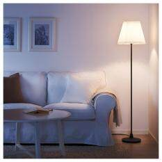 Ikea โคมไฟตั้งพื้น Angla  Floor Lamp สูง 155 ซม. (ขาว-เทาดำ).