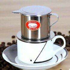 ขาย Imixlot Stainless Steel Metal Vietnamese Coffee Drip Cup Filter Maker Strainer Silver Intl จีน ถูก