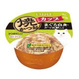 ขาย Inaba ยากิคัตซึโอะ คัพปลาโอย่าง อาหารแมวชนิดเปียก สูตรปลาทูน่าเนื้อขาวและปลาโอแห้งในน้ำเกรวี่ ขนาด 80 G 12ถ้วย ออนไลน์