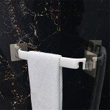 ส่วนลด Inchant Self Adhesive Tower Bar Holder Powerful Non Trace Sticker Bathroom Kitchen Plastic Towel Hanger Rail Drill Free White Color 38Cm Intl Unbranded Generic จีน