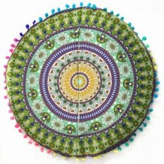 ขาย Indian Mandala Floor Pillows Round Bohemian Cushion Cushions Pillows Cover Case Intl ถูก จีน