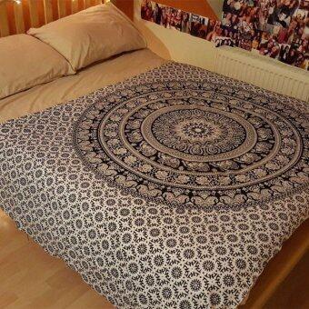 ซื้อเลย Indian Mandala Wall Hippie พรมแฝดผ้าคลุมแบบแขวน GYPSY Home Decor New - INTL ซื้อที่ไหน - มีเพียง ฿224.50