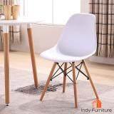ขาย Indy Furniture เก้าอี้อเนกประสงค์ รุ่น Wagon สีขาว ขาไม้บีช ถูก