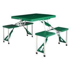 ราคา Innovation โต๊ะปิคนิกพับได้ 4ที่นั่ง รุ่น Px 022 G สี เขียว รุ่นพิเศษ แข็งแรง เหนียวและหนา ใหม่ ถูก