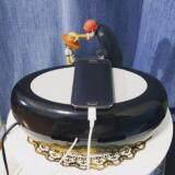ขาย Int Decor กล่องเก็บปลั๊กไฟสายชาร์จและสายเคเบิ้ลอเนกประสงค์ ทรงรี สีดำ ออนไลน์