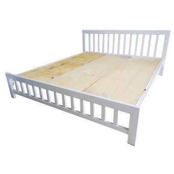 Inter Steel เตียงนอนคู่ 5 ฟุต รุ่นCondo1 เหล็กหนาแข็งแร็งพิเศษ