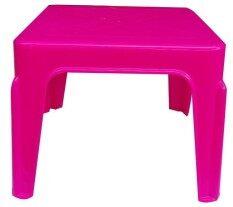 ซื้อ Inter Steel โต๊ะข้าง โต๊ะสนาม พลาสติก สีชมพู ถูก ไทย