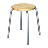 โปรโมชั่น Inter Steel เก้าอี้เหล็ก รุ่น Fantasy สีบรอนด์ เบาะไม้ยาง Inter Steel
