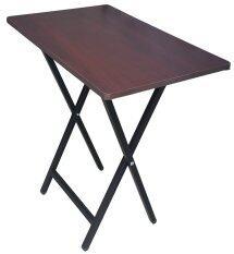 ความคิดเห็น Inter Steel โต๊ะโน๊ตบุ๊ค ขาเหล็กพับได้ ขาสีดำ ท็อปโอ๊ค