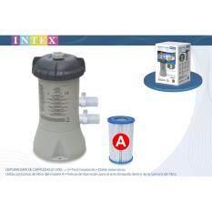 ราคา Intex 28604 เครื่องกรองน้ำระบบไส้กรอง สระ 8 12 ฟุต ใหม่ ถูก