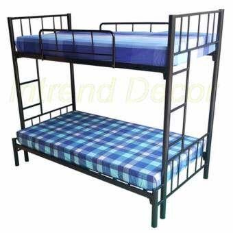 IntrendDec โครงเตียงเหล็ก2ชั้นเล่นระดับขนาด 3ฟุต/3.5ฟุต-
