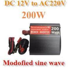 ส่วนลด Inverter อินเวอร์เตอร์ 200W Off Grid Modified Sine Wave Solar Thailand