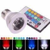 ราคา Iremax หลอดไฟ 5W E27 Led Spot Rgb Light Lamp 16 Color Change พร้อมรีโมทคอนโทรล เป็นต้นฉบับ