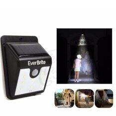 ซื้อ Iremax โคมไฟ Led พลังงานแสงอาทิตย์ ติดภายนอกอาคาร มีเซนเซอร์ตรวจจับความเคลือนไหว รุ่น Ever Brite 01 ใน กรุงเทพมหานคร