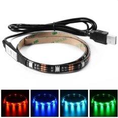 โปรโมชั่น Iremax ไฟเส้น Multi Color Rgb 50Cm 5050 Smd Led กันน้ำ พร้อม Usb Cable