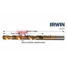 ขาย ดอกสว่านไฮสปีด เคลือบไทเทเนียม Irwin ขนาด 4 5 80 Mm ราคาถูกที่สุด