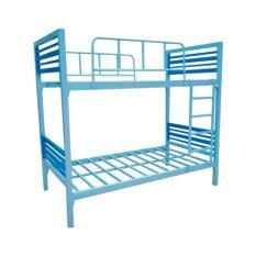 ราคา Iso เตียงเหล็กกล่อง 2ชั้น เหล็กหนาพิเศษ 3 5 ฟุต รุ่นคอนโด เป็นต้นฉบับ