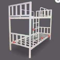 Iso เตียงเหล็กกล่อง 2ชั้น เหล็กหนาพิเศษ 3 5 ฟุต รุ่นคอนโด กรุงเทพมหานคร