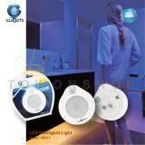 ซื้อ Iwachi ไฟเซ็นเซอร์อัจฉริยะ Led ไฟจับการเคลื่อนไหว ตู้เก็บของใต้อ่างล้างหน้า เปิดไฟอัตโนมัติ เมื่อเดินผ่าน Inteligent Light Smart Led Motion Sensor 3W Lamp แสงขาว Daylight ถูก