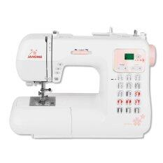 ขาย Janome จักรเย็บผ้าชนิดกระเป๋าหิ้ว รุ่น Ommc4030Sp White ถูก ไทย