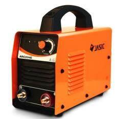 ราคา Jasic เครื่องเชื่อมไฟฟ้าระบบอินเวิร์ทเตอร์ Arc204E สีส้ม ที่สุด