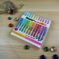 ราคา ปากกาเน้นข้อความ เซ็ต12สีพาสเทล Java Power Line2500 Set 12 Color Pastel Java เป็นต้นฉบับ
