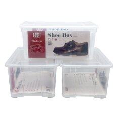 ส่วนลด Jcj ชุดกล่องรองเท้า รุ่น 5126 จำนวน 3 ใบ