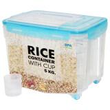 ราคา Jcj Rice Container 8 5L W Wheelกล่องข้าวสารมีล้อ 8 5 L Jcj ออนไลน์