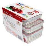 ซื้อ Jcj ชุดกล่องอาหาร Safe Lock 8 ชิ้น รวมฝา 800Ml X 2 2000Ml X 1 3200Ml X 1 ออนไลน์ ถูก