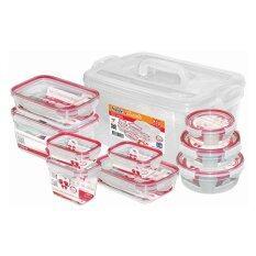 ขาย Jcj ชุดกล่องถนอมอาหาร Safe Lock รุ่น 92553 จำนวน 20 ชิ้น รวมฝา Jcj ถูก