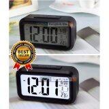 ราคา Jenny2Shop นาฬิกาปลุกตั้งโต๊ะ นาฬิกาปลุกเรื่องแสง นาฬิกาปลุก สีขาว