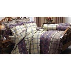 ราคา Jessica ชุดผ้าปูที่นอน สำหรับเตียงคู่ ขนาด 5 ฟุต Tc พิมพ์ลาย J203 ชุด 5 ชิ้น ประกอบด้วย ผ้าปูที่นอน 1 ปลอกหมอน 2 ปลอกหมอนข้าง 2 Jessica ใหม่