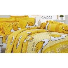 ขาย Jessica ชุดเครื่องนอนลาย ไข่ขี้เกียจ Gudetama 3 5 ฟุต รวมผ้านวม รุ่น Gm002 ออนไลน์ ใน กรุงเทพมหานคร