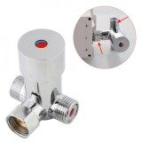 ซื้อ Justgogo G1 2 Water Mixing Valve Thermostatic Mixer Hot Cold Temperature Control For Automatic Faucet Intl