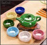 โปรโมชั่น Jvgood 7 Pcs Rainbow Colors ชุดชาจีน สำหรับชงชาและเตาไฟฟ้า ครบเซต สำหรับ 7 ท่าน รวมอุปกรณ์ 7 ชิ้น ใน จีน